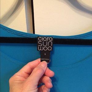 Clara Sun Woo Tops - Clara Sum Woo cold shoulder tunic